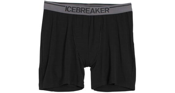 Icebreaker Anatomica Boxers Men black/monsoon